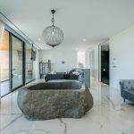 VILLA VALERIA - Master Suite Natural Stone Bathtub