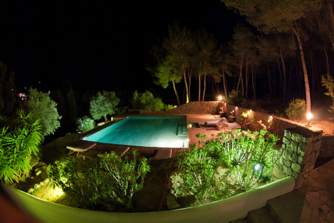 21villa luz - pool area