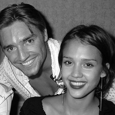 Jessica Alba & Cyril Peret