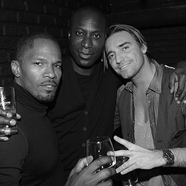 JAMIE FOX, OZWALD BOATENG & Cyril Peret