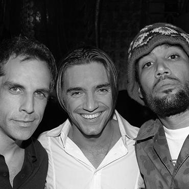 Ben Stiller, Ben Harper & Cyril Peret